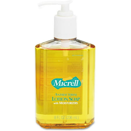 Micrell Antibacterial Lotion Soap Pump , Light Scent, 8 - Soap Scents Scented Lotions