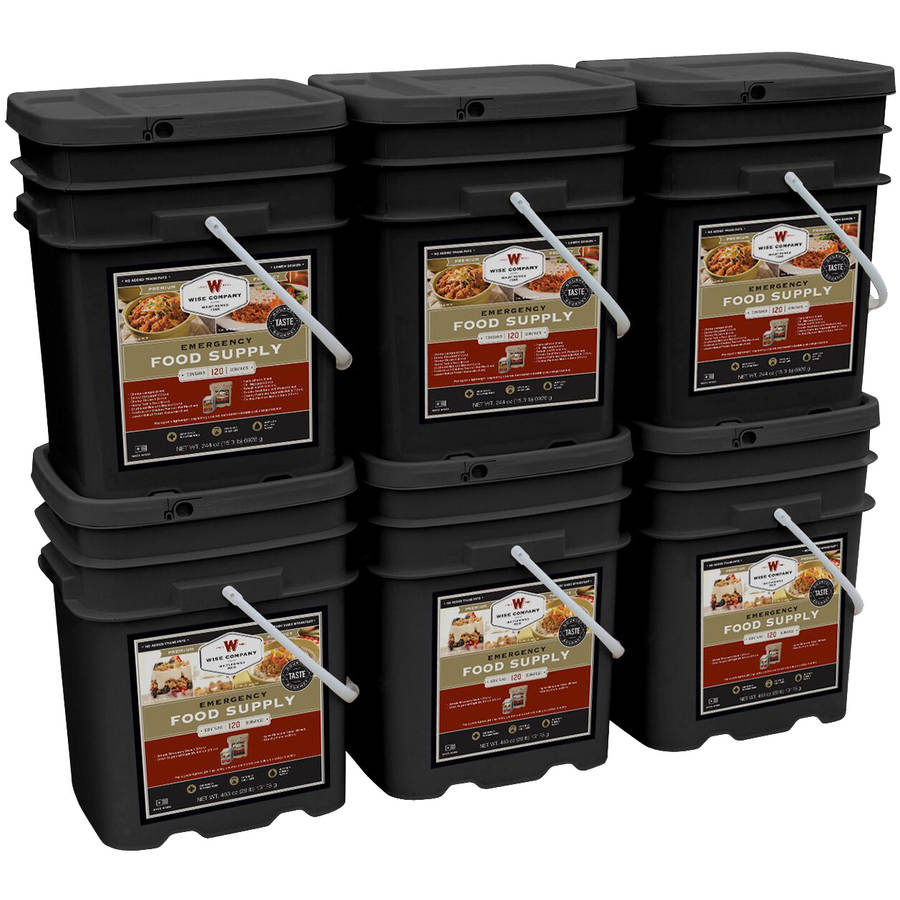Wise Company Combination Breakfast/Entree & Soup Emergency Food Supply Kit, 720 pc