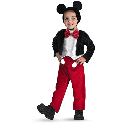 Mickey Mouse Toddler Halloween Costume  sc 1 st  Walmart & Mickey Mouse Toddler Halloween Costume - Walmart.com