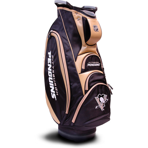 Team Golf NHL Pittsburgh Penguins Victory Golf Cart Bag