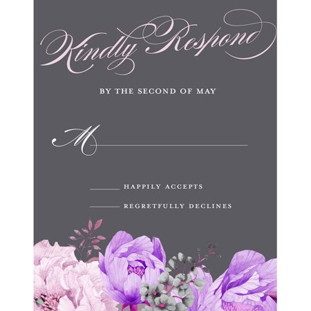 Enchanting Blossoms Standard RSVP