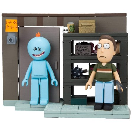 "Rick & Morty Smith Garage Rack Small Construction Interlocking Building Set, Buildable ""Smith Garage Rack"" small set inspired by Dan Harmon.., By McFarlane Toys"
