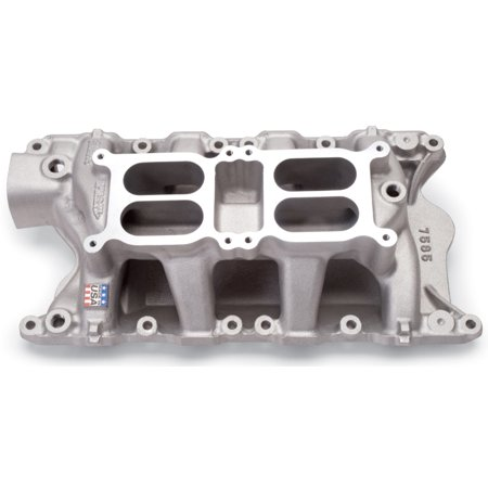 Air Gap Dual Quad Manifold - Edelbrock Ford 351 W Dual Quad Air Gap Manifold
