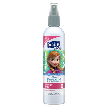 (2 pack) Suave Kids Disney Frozen Anna Sparkle Berry Detangler Spray, 10