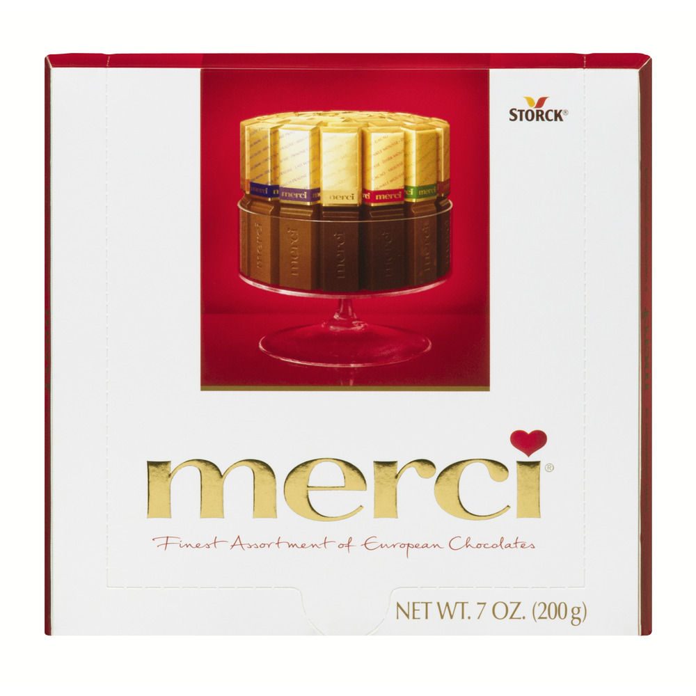 Storck Merci Finest Assortment Of European Chocolates, 7.0 OZ