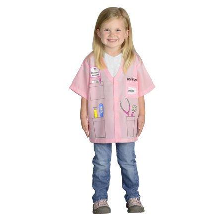 My 1st Career Gear Pink Dr. Top, One Size Fits Most, Ages 3-6
