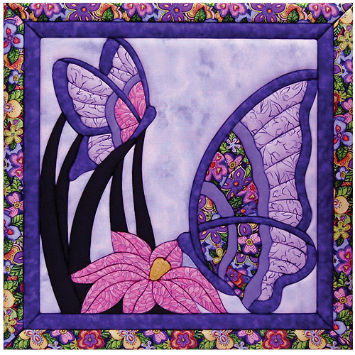 Butterfly Quilt Magic Kit, Large