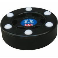A&R Sports Inline Street Hockey Puck, Black