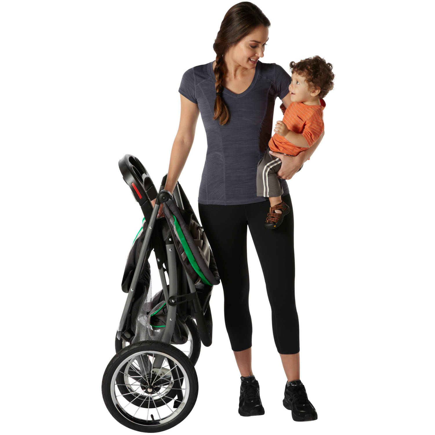 8be2e6b3d Graco Fastaction Fold Jogger Click Connect Travel System - Chili Red -  Walmart.com