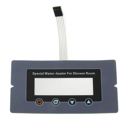 DC 12V 1x4 4 Key Matrix DIY Flat Membrane Switch Control Keypad New
