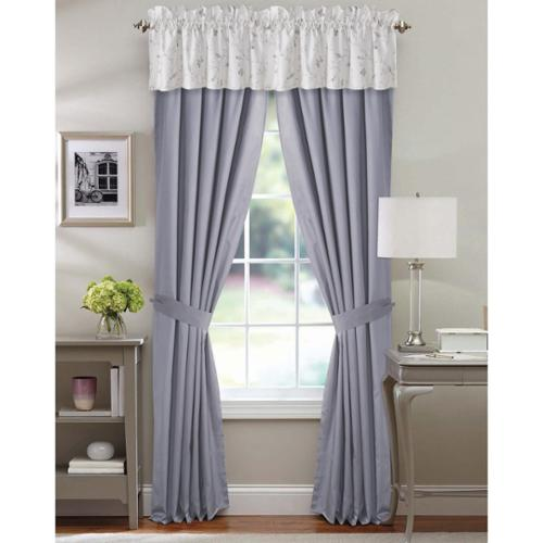 MARWAH CORPORATION Tribeca Living Mirage Cotton 6-piece Window Treatment Set by Overstock