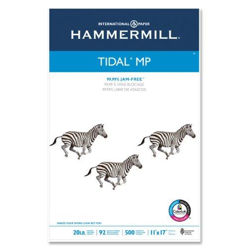 "Hammermill 16202-4 Tidal Mp Paper - Ledger - 11"" X 17"" - 20lb - 500 X Sheet (ham162024)"