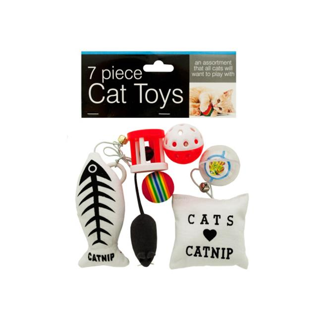 Bulk Buys OD939-16 Cat Toys Set by