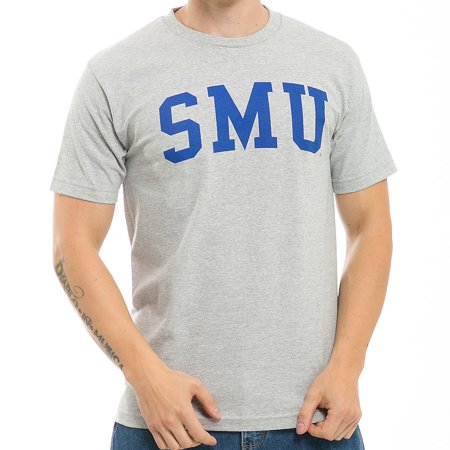 Southern Methodist Mustangs Game Day T-Shirt (Gray)