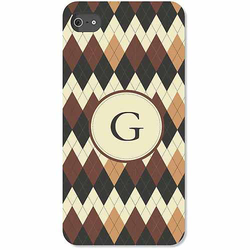 Personalized Argyle iPhone 4 Case