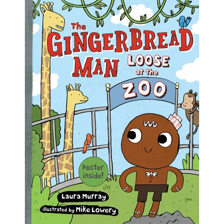 The Gingerbread Man Loose at The Zoo](Gingerbread Man Crafts)