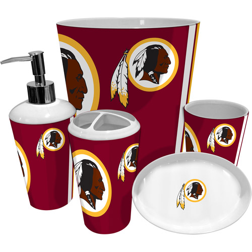 NFL Washington Redskins Decorative Bath Collection Shower Curtain