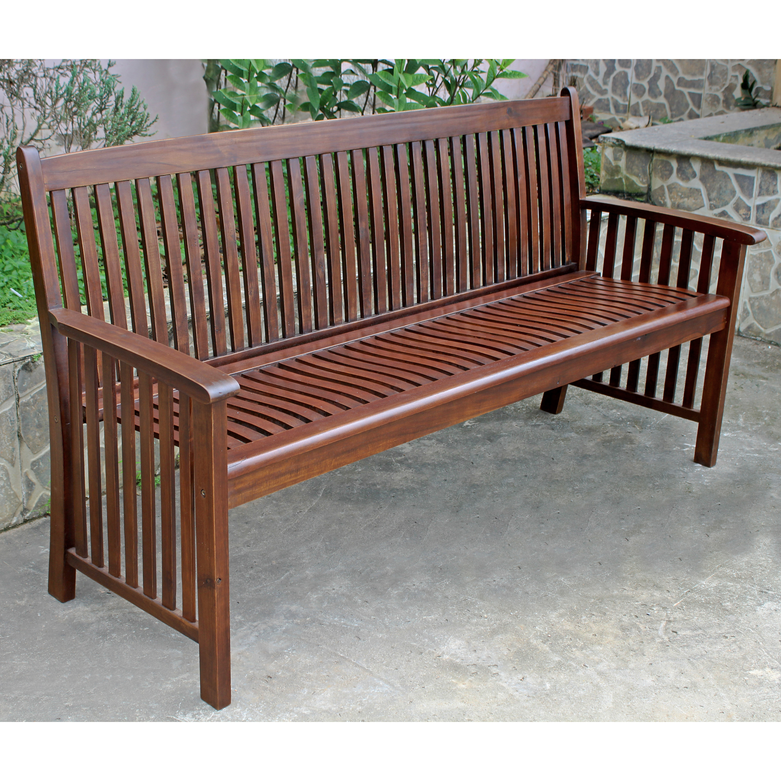 Highland Acacia Denver 3-seater Park Bench