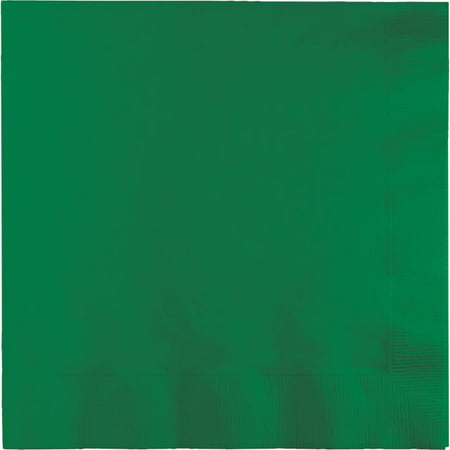 Party Creations Beverage Napkins, Emerald Green, 20 Ct - Glow In The Dark Napkins