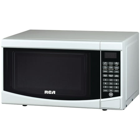 RCA RMW733 0.7 Cu. Ft. Microwave, White (Rca 0-7 Cu Ft Microwave Stainless Steel)