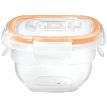 Lock&Lock by Starfrit 095120-012-0000 Square Easy Match Lock&lock Container (3 Ounce) 30 Ounce Plastic Container