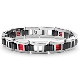 Tonino Lamborghini - Primo Titanium Bracelet Red