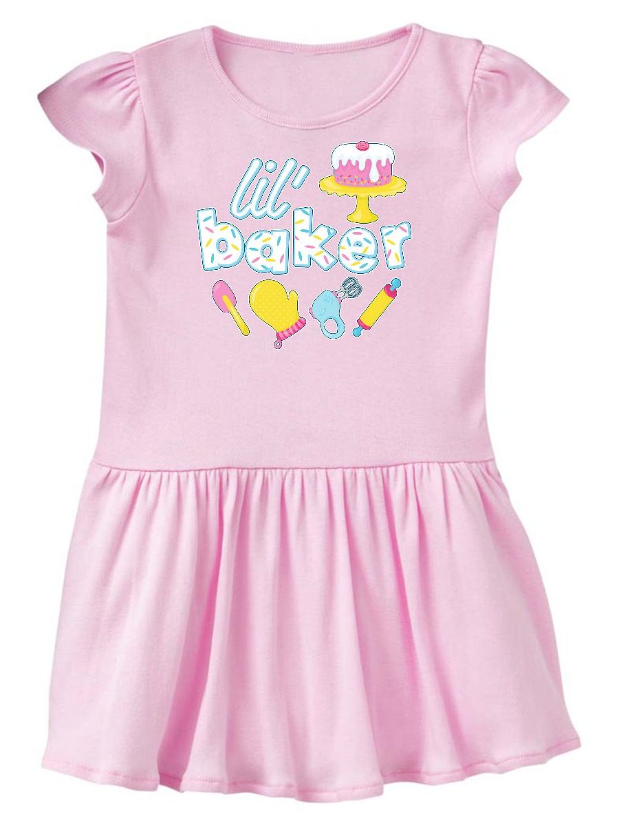 Lil' Baker icing and cake Toddler Dress