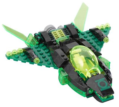 Lego DC Green Lantern Green Lantern Spaceship Minifigure [Loose] by