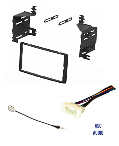 asc car stereo radio install dash kit, wire harness, and antenna adapter for installing an aftermarket double din radio for 2009 2010 kia sportage Hummer H2 Wiring Harness