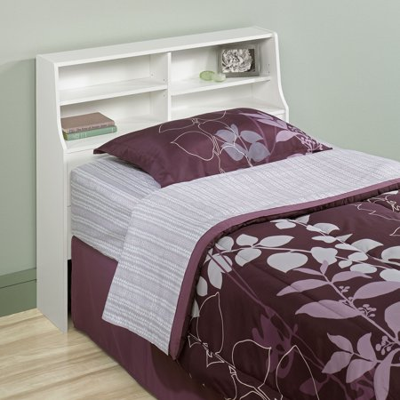 Sauder Beginnings Twin Bookcase Headboard  Soft White. Sauder Beginnings Twin Bookcase Headboard  Soft White   Walmart com