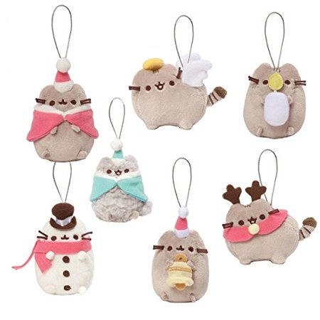 Gund Pusheen Blind Box Series #5 Holiday Cheer Christmas Mini Plush