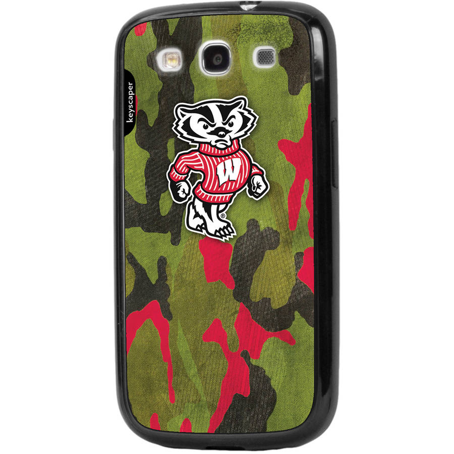Wisconsin Badgers Galaxy S3 Bumper Case