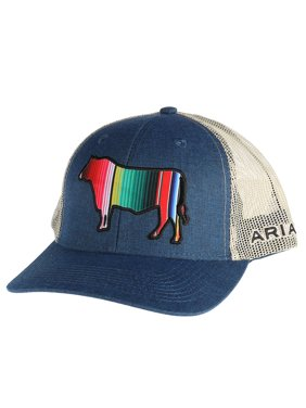 edcd143a14a31 Product Image M F Western Products Mens Cap With Serape Bull OS Blue