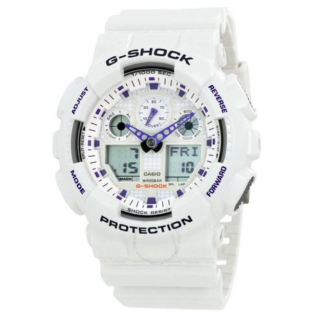 Casio G-shock Mens Watch GA100A-7ACR