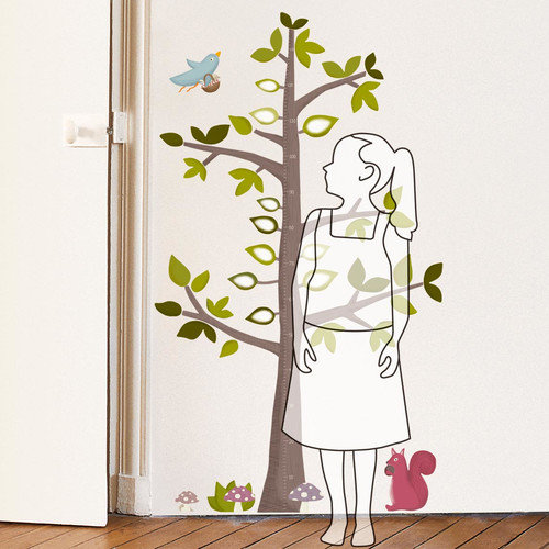 Retrospect Group Height Gauge Tree Decorative Growth Chart