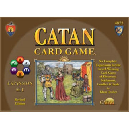 Catan Card Game   Expansion Set  Revised Edition  Lightly Used