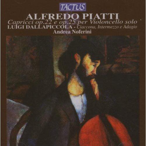 A.C. Piatti - Alfredo Piatti: Cappricci Per Violoncello Solo Op. 22 E Op. 25 [CD]