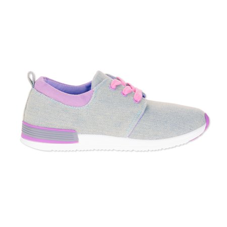 Oomphies Sunny Toddler Girls' Jersey Athletic Shoes - High Heel Shoes For Kids Girls