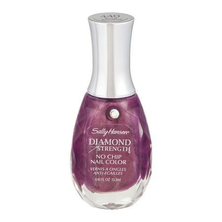 Sally Hansen Nail Hardener - Sally Hansen Diamond Strength No Chip Nail Color, Royal Romance