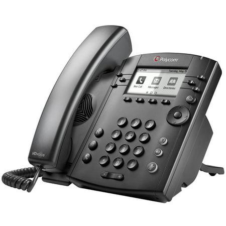 VVX 311 6-Line IP Phone Gigabit PoE w/ Memory/Processor (Enterprise Ip Phone)
