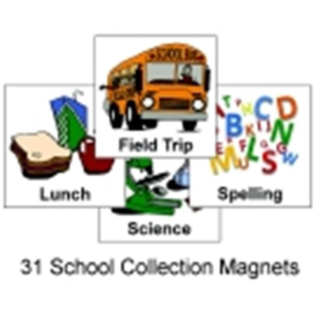 School Specialty Schkidules School Activity Magnets
