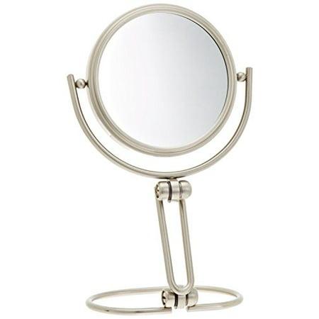 15x Magnifying Mirror - Jerdon MC315N 3-Inch Folding Travel Mirror with 15x Magnification, Nickel Finish