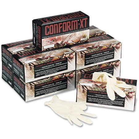 Conform XT Premium Latex Disposable Gloves, 100 count