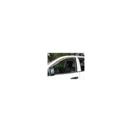 Stampede 6226-2 Window Visor, ABS Plastic Smoke ()
