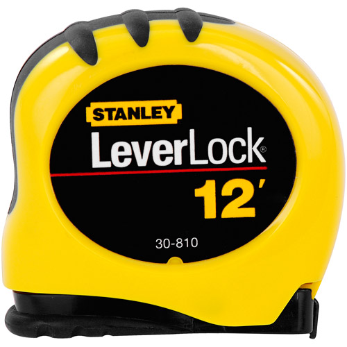 Stanley Hand Tools 30-810 12' LeverLock Tape Rule