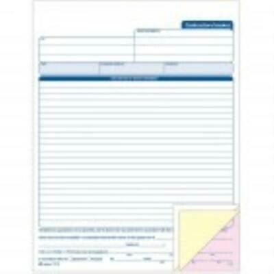 Cardinal Contractor's Invoice Book by