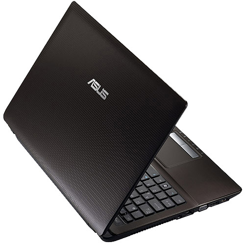 """ASUS Black 15.6"""" K53SD-DS51 Laptop PC with Intel Core i5-2450M Processor and Windows 7 Home Premium Option with Windows 8 Pro Upgrade Option"""