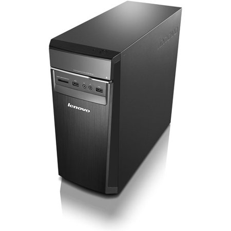 Lenovo Black H50 Desktop PC with AMD A6-6310 Processor, 6GB Memory, 1TB Hard Drive and Windows 8.1 (Monitor Not Included) (Free Windows 10 Upgrade before July 29, 2016)