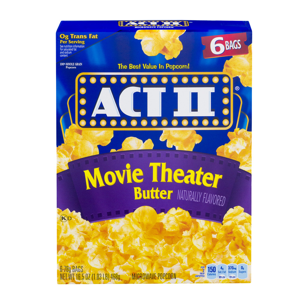 ConAgra Foods Inc. Con Agra Foods Inc. Act Ii ® Movie Theater Butter