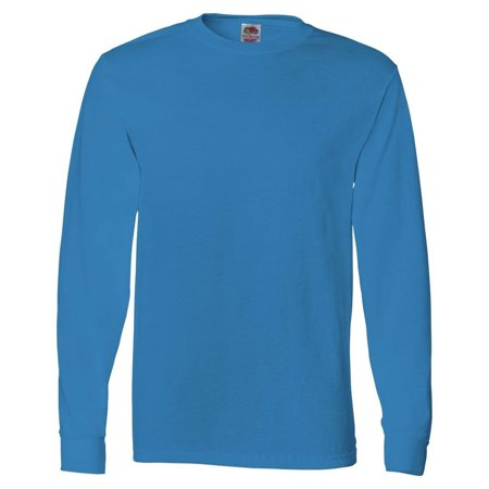 Fruit of the Loom Men's Ribbed Cuffs Jersey T-Shirt, Style 4930-Pack4